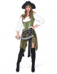 Fräck pirat - Maskeraddräkt för vuxna