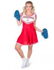 Tuff cheerleader - Maskeraddräkt för vuxma