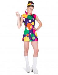 Popkult disco drottning - Maskeraddräkt för vuxna