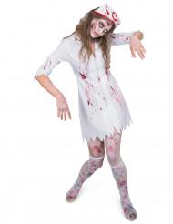 Zombiesjuksyster - Halloweendräkt för vuxna