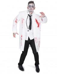 Zombiedoktor - Halloweendräkt för vuxna