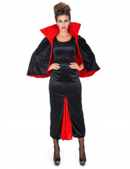 Grevinnan Dracula i sammet - Halloweendräkt för vuxna