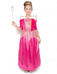 Prinsessklänning i rosa för barn