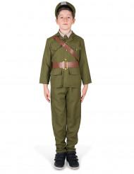 En liten soldat - Maskeraddräkt för barn