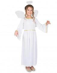 Ängladräkt med vingar - Juldräkt för barn