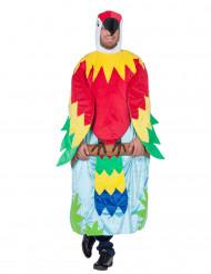 Papegojan på sin kvist - Maskeraddräkt för vuxna