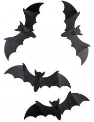 12 fladdermöss att dekorera med till Halloween
