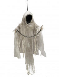Spöke med kejor och röda ögon - Halloweenpynt