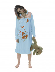 Zombiens pyamasparty - Halloweenkostym för vuxna