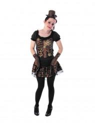 Fröken Maskin - Steampunk maskeraddräkt för tonåringar
