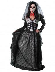 De dödas brud - Halloweenkostym för vuxna
