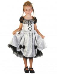 Brudtärnedräkt för barn till Halloween