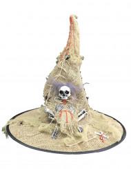 Beige Häxhatt för Halloween