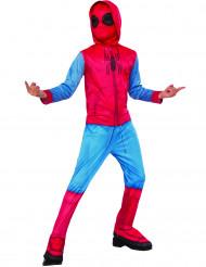 Spiderman™ från Homecoming - Dräkt för barn med skoöverdrag
