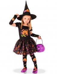 Godis och pumpor - Halloweenkostym för barn