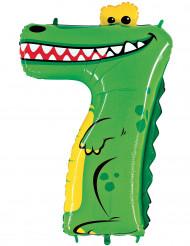 Ballong siffran 7 - Krokodil