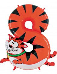 Ballong siffran 8 - Katt