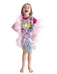 Färglägg din klänning - Maskeradkläder för barn