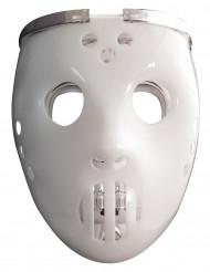 Hockeymask och dödskalle - Mask med ljus för vuxna