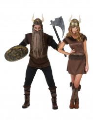 Vikingduo - Pardräkt för vuxna