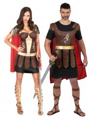 Gladiatorduo - Pardräkt för vuxna