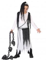 Kusligt spöke - Halloweenkostym för barn