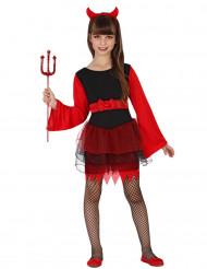 Demon i tyllkjol - Halloweenkostym för barn
