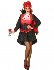 Bloddränkt vampyr - Halloweendräkt för vuxna