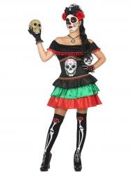 De dödas dans - Halloweenkläder för vuxna