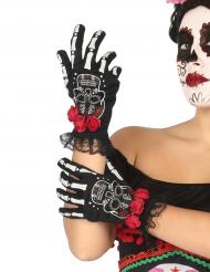 Handskar til de dödas dag - Halloweentillbehör