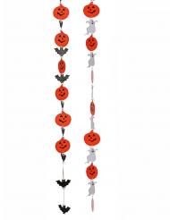 Hängande dekoration till Halloween med spöken och pumpor