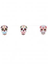 Calaveras - Slinga till Halloweenfesten i Dia de los Muertos-stil