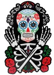 Dia de los Muertos - Väggdekoration till Halloweenfesten 38 x 25 cm