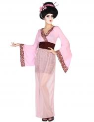 Geisha-inspirerad maskeraddräkt för vuxna