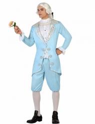 Blå baron - Barock maskeraddräkt för vuxna