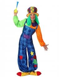 Clownen Stitches - Maskeradkläder för vuxna