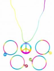 Roligt smyckeskit med armband och halsband för vuxna