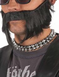 Nithalsband i silver för vuxna till maskeraden