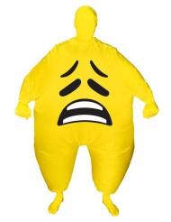 Ledsen smiley - Uppblåsbar Morphsuits™-dräkt