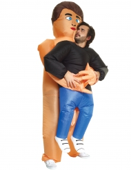 Kramglad bastubadare - Carry me-dräkt för vuxna