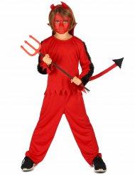 Onda röda - Djävulsdräkt för barn till Halloween