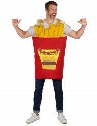 Pommes Frites - Maskeraddräkt för vuxna