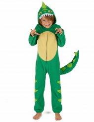 Grön dinosauriedräkt för barn till maskeraden