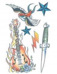 Tatuering för vuxna - Rockstar