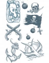 Tatuering för vuxna - Sjörövare