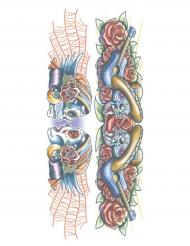 Tatuering för vuxna - Dia de los muertos