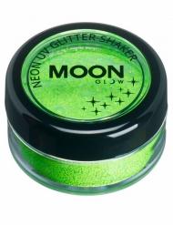 Grönt UV-puder från Moonglow® - Maskeradsminkning 5g