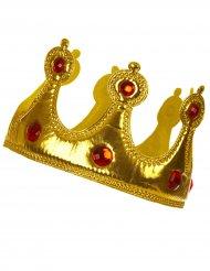 Mjuk gyllene krona för vuxna till maskeraden