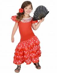 Söt flamencodansare - Maskeraddräkt för barn