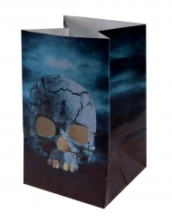 Skräcknatt - 6 lyktor med kranium till Halloween